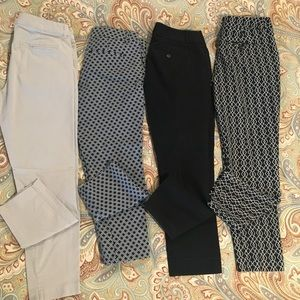 Pants - Multiple Ankle Cropped Dress Pants